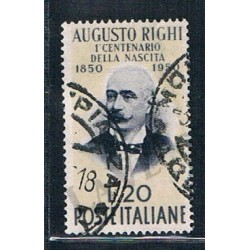 1950 - Centenario di Augusto Righi - US