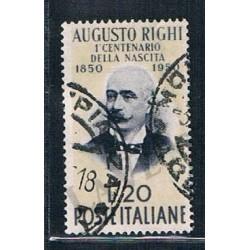 1950 - Centenario di Augusto Righi - US