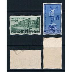 1950 - Conferenza UNESCO - MNH/**