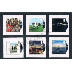 2016 Gran Bretagna 50 anni Pink Floyd serie MNH/**