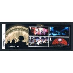 2016 Gran Bretagna 50 anni Pink Floyd foglietto MNH/**