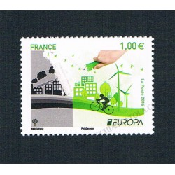2016 Francia Europa Think Green MNH/**