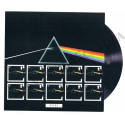 2016 Gran Bretagna Pink Floyd Minifoglio Unusual MNH/**