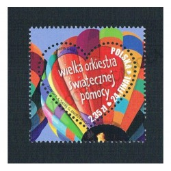 2016 Polonia Unusual Stamps Cuore MNH/**
