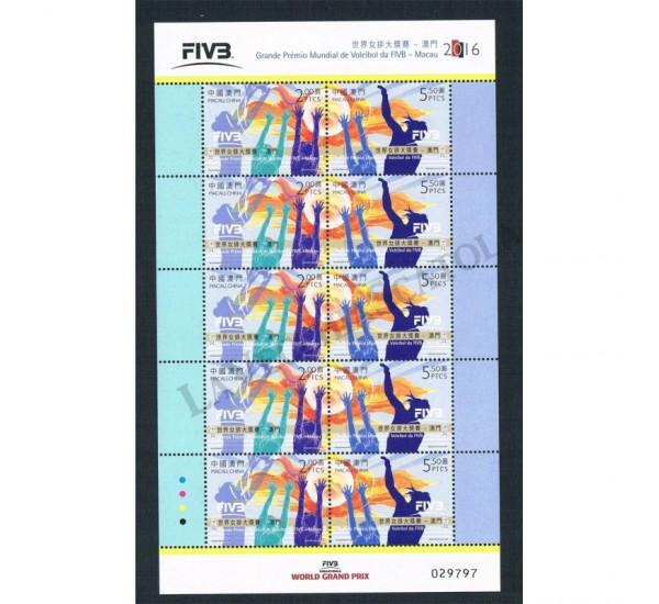 2016 Macao FIVB Campionato internazionale pallavaolo MNH/**