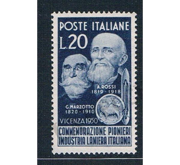 1950 - Pionieri Industria laniera italiana MNH/**