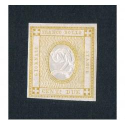 1862 Francobollo per Giornali 2cent bistro Sas.10