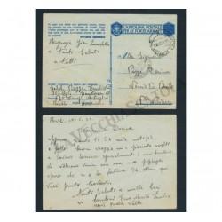 WW2 Cartolina Postale per le Forza Armate da Rivoli