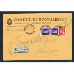 1935 Raccomandata da Buonalbergo (Benevento)