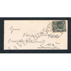 1922 Biglietto da visita da Cividale per distretto