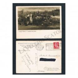 Cartolina I recini da festa di Luigi Nono illustrativa viaggiata