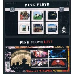 2016 Gran Bretagna Pink Floyd folder SERIE+FOGLIETTO
