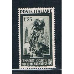 1951 - Campionati Ciclistici del Mondo a Milano e Varese MNH/**