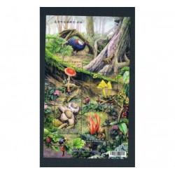 2012 Taiwan (China) foglietto tematica Funghi