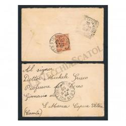 Lettera da Rionero in Vulture (Potenza) per Santa Maria C.V - Floreale