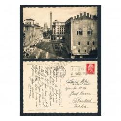 Cartolina Bologna Palazzo Re Enzo per Istanbul (FP-BN)