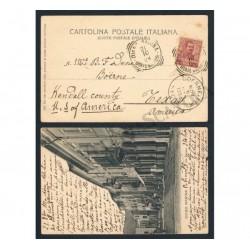 Cartolina Diano Marina per Boerne in Texas (BN-FP)