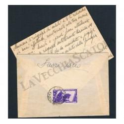 Lettera con testo da Nusco per Paternopoli decennale isolato