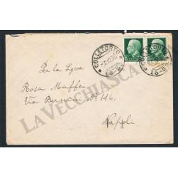 Lettera da Colletorto (Campobasso) a Napoli