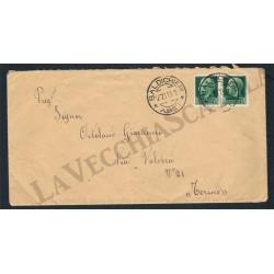 Lettera da Baldichieri (Asti) per Torino - Imperiale
