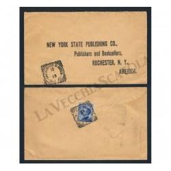 Lettera da Castronuovo di Sicilia per Rochester (USA)