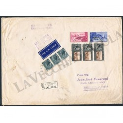 1955 Manoscritti Raccomandati per Argentina S.Margherita Ligure