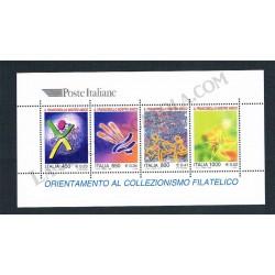 1999 Foglietto Orientamento al collezionismo MNH/**