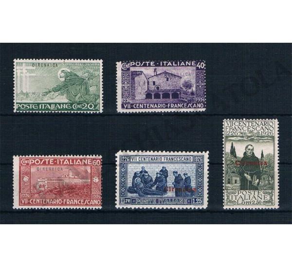 1926 Cirenaica San Francesco serie MNH/**