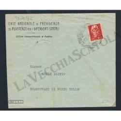 Lettera da Padova a Scardovari di Porto Tolle Mod.C.E.II