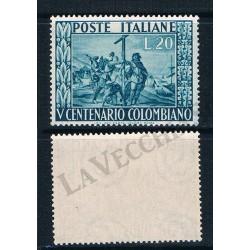 1951 - V centenario della nascita di Colombo - MNH/**