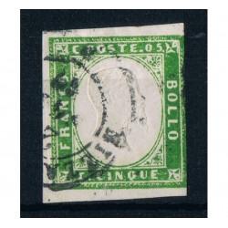 ASI Sardegna 5 cent Sas.13Ad Nizza firmato Ballabio