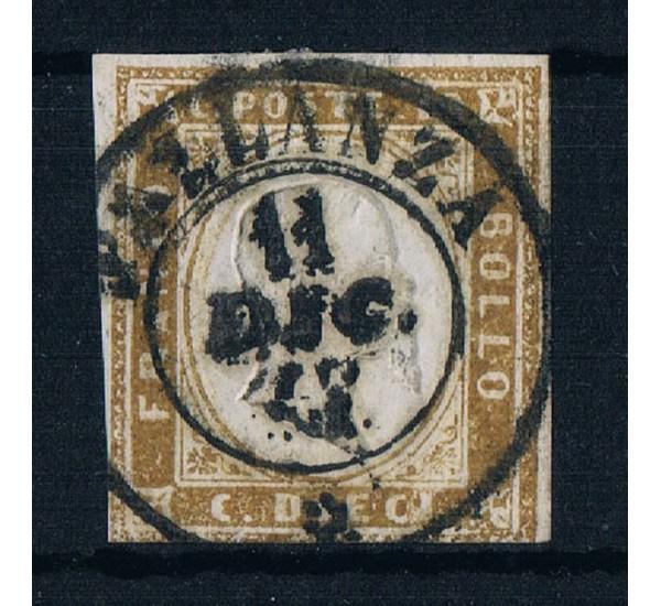 ASI Sardegna 10cent Sas.14Cl Pallanza (6pt) firmato Ballabio
