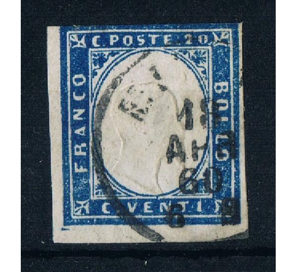 ASI Sardegna 20cent Sas.15Cb cobalto firmato Ballabio