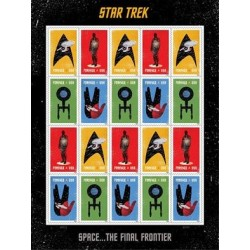 2016 USA Star Trek 50° anniversario - Minifoglio