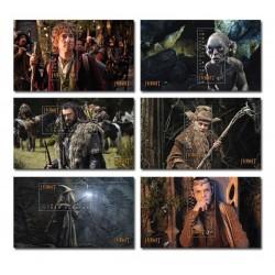 2012 Nuova Zelanda The Hobbit serie 6 foglietti MNH/**