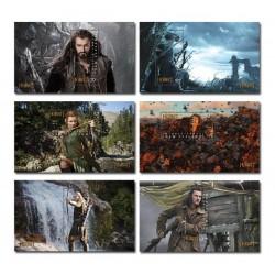 2013 Nuova Zelanda The Hobbit serie 6 foglietti MNH/**