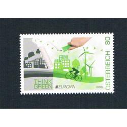 2016 Austria Europa Think Green MHN/**