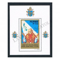 1981 Filippine congiunta Polonia Giovanni Paolo II