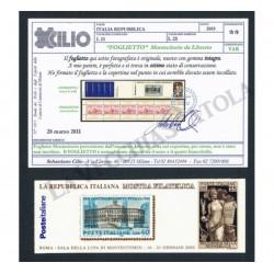 2003 Varietà libretto Montecitorio non incollato Cert. Cilio