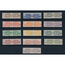 1914 Pacchi Postali nodi sabaudi serie completa MLH/*
