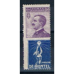 1924 Francobollo Pubblicitario De Montel MNH/**
