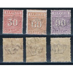 1913 Servizio Commissioni serie completa MLH/*