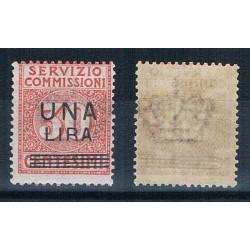 1925 Servizio Commissioni 1 lira su 30 cent MNH/**