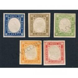 1861 Province Napoletane serie non emessi MLH/*