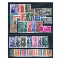 1955 Repubblica Italiana - Annata completa MNH/** 46val