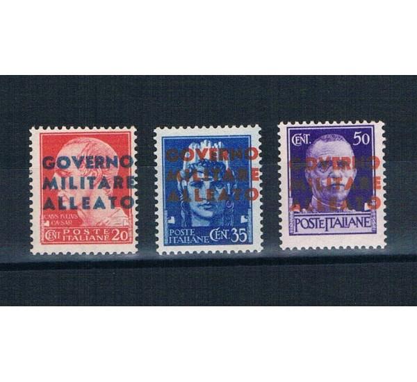 1943 Napoli Governo Militare Alleato MH/*