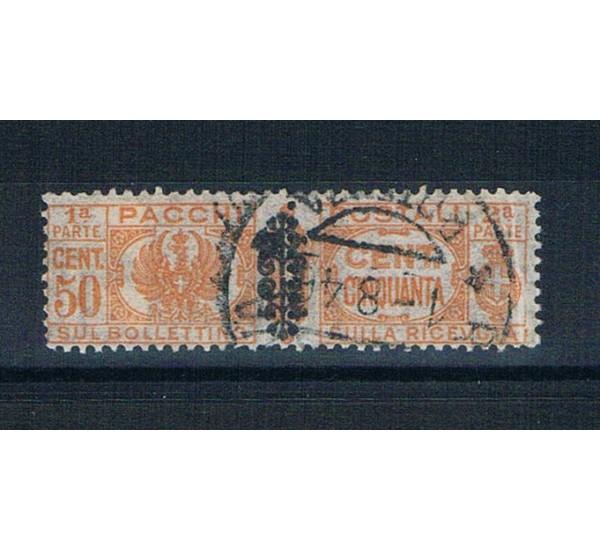 1945 Luogotenenza 50c Pacchi Postali Sas.52 US
