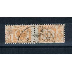 1946 Luogotenenza 3 Lire Pacchi Postali Sas.62