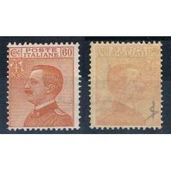 1926 Varietà Decalco Michetti cent 60 Sas.205f MNH/**