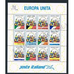 1993 Foglietto Benvenuta Europa - MNH/**